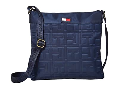 Tommy Hilfiger Jules Large North/South Crossbody (Tommy Navy) Bags