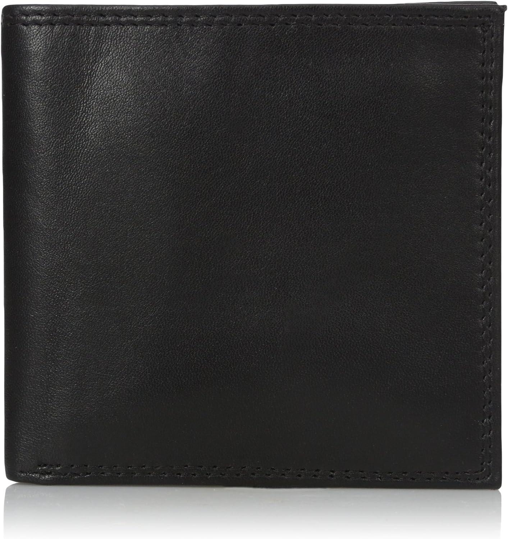 Buxton Men's Emblem-leather Cardex Wallet