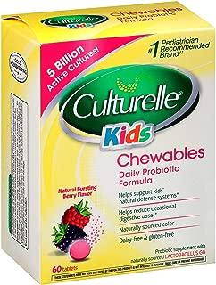Culturelle Kids Chewables Probiotic (Berry Flavor) 60 Count
