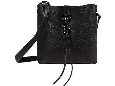 Rebecca Minkoff Megan Small Feed Bag (Black 1) Cross Body Handbags