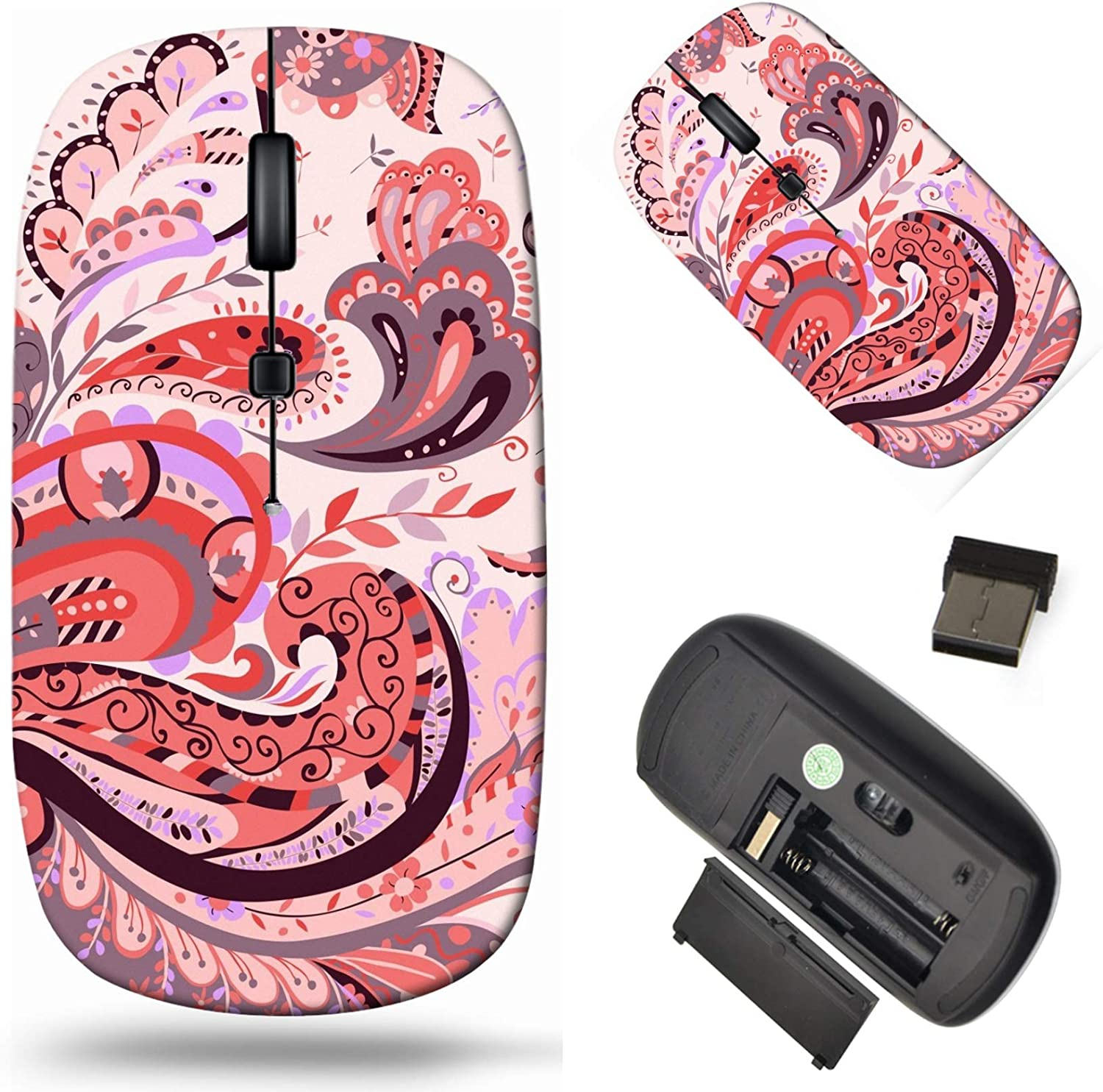 Wireless Computer Mouse 2.4G with USB Receiver Atlanta Mall Laptop Cor Bargain sale