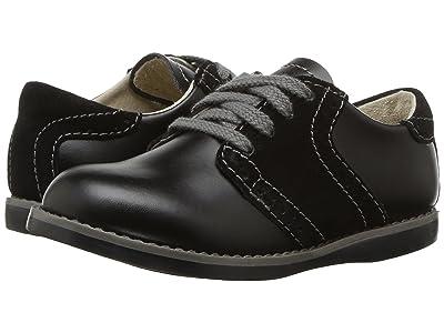 FootMates Connor 2 (Toddler/Little Kid) (Black/Black) Boys Shoes