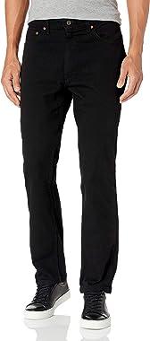 Lee Men's Premium Select Classic Fit Straight Leg Jean, Double Black, 30W x 32L