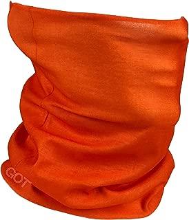 GOT Sports Face Mask Versatile Headwear - Works as Neck Gaiter, Fishing Sun Mask, Headband, Bandana, Balaclava - Multifunctional Breathable Seamless Microfiber