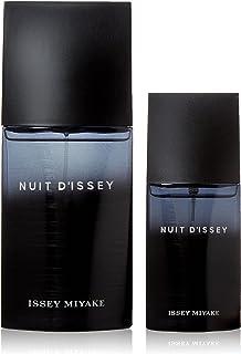 ISSEY MIYAKE Nuit D'Issey Eau De Toilette Gift Set For Men, Perfume 125ml + 40 ml, ISSGSM002