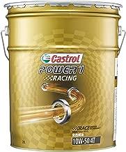 カストロール エンジンオイル POWER1 RACING 4T 10W-50 20L 二輪車4サイクルエンジン用全合成油 MA Castrol
