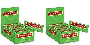 Larabar, Fruit & Nut Bar, Apple Pie, Gluten Free, Vegan, Whole 30, 1.6 Ounce (2 Pack of 16)