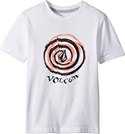 Volcom Kids Comes Around Short Sleeve Tee (Toddler/Little Kids)