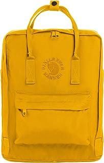 Fjallraven Re-Kånken Mochila, Unisex Adulto, Sunflower Yellow, 38 x 27 x 13 cm