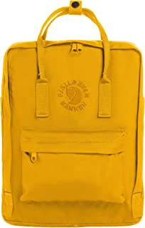 Fjallraven - Re-Kanken Recycled and Recyclable Kanken Backpack for Everyday, Sunflower Yellow