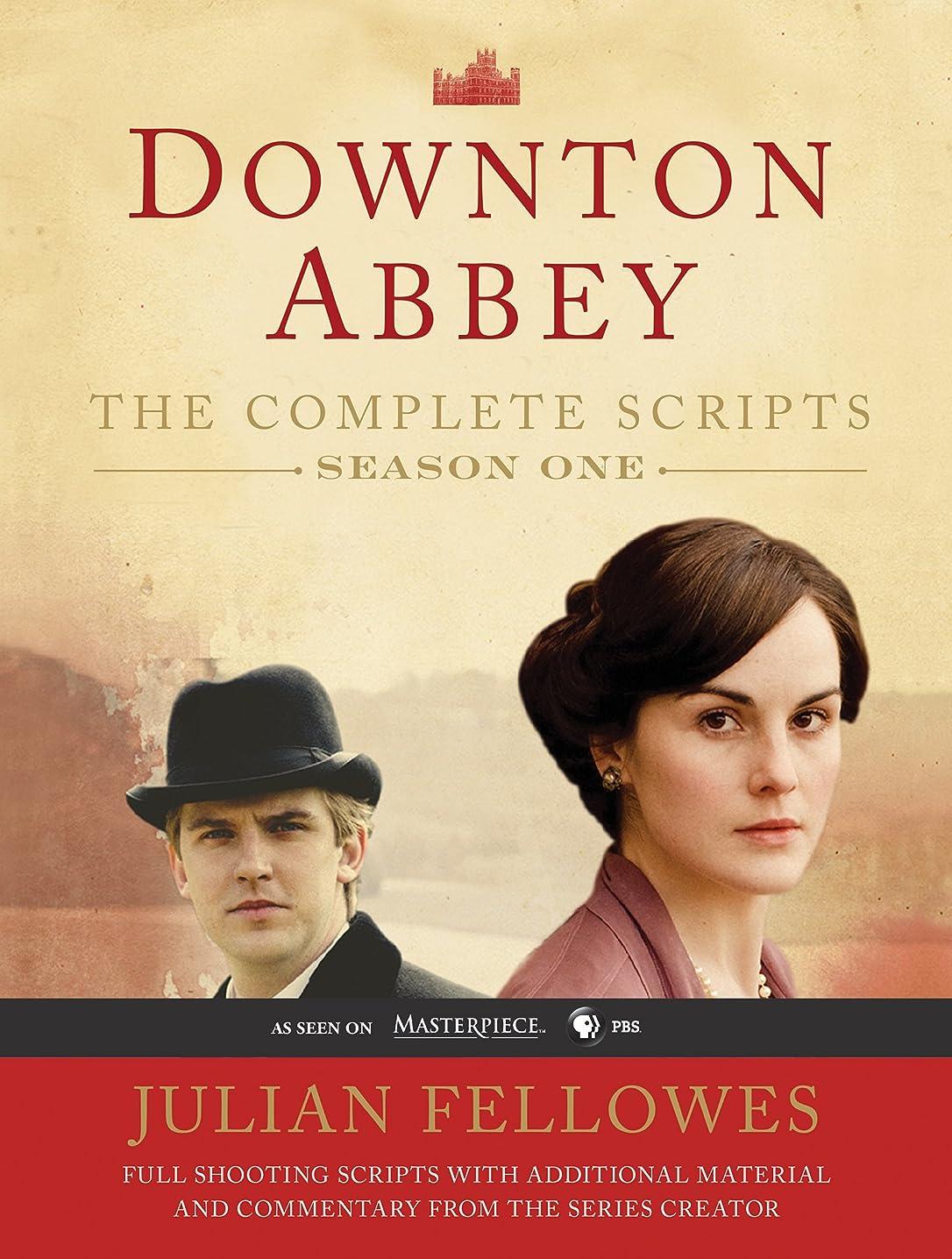 アクセシブル透けて見える薄暗いDownton Abbey Script Book Season 1 (English Edition)