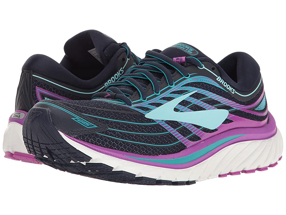 Brooks Glycerin(r) 15 (Evening Blue/Purple Cactus Flower/Teal Victory) Women
