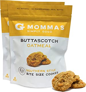 Oatmeal Cookies with Butterscotch - G Mommas Homemade Oatmeal and Butterscotch Cookies - 2 pack