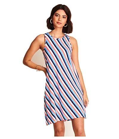 Hatley Bella Dress Diagonal Stripes