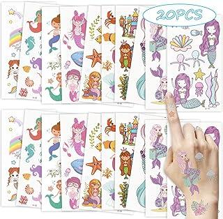 Tattoo Sticker 20 Stuks, Scrapbooking, Waterdichte Stickers, Tattoo Sticker Anime, Kinderstickers, Dierenstickers Voor Peu...