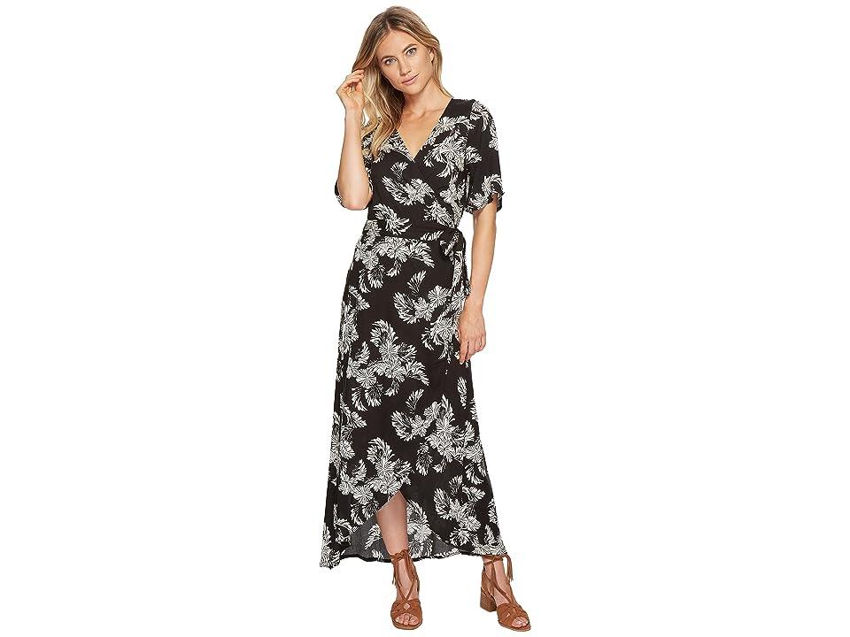 Roxy Keep The Seas Dress (Anthracite Tropical Two-Tone) Women