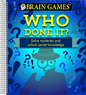 Brain Games - Who Done It?: Solve Mysteries and Unlock Secret Knowledge