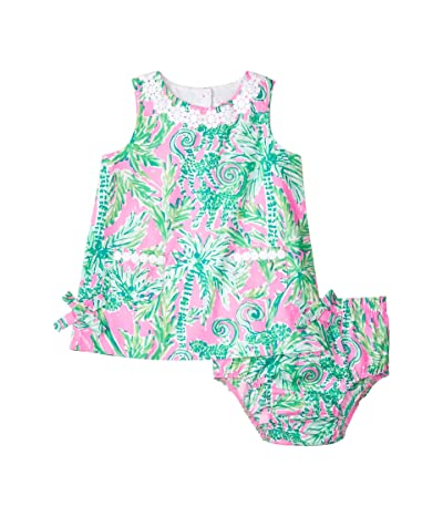 Lilly Pulitzer Kids Baby Lilly Shift Dress (Infant) (Prosecco Pink Hangin Around) Girl