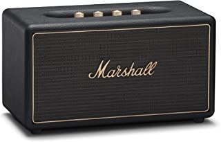 Marshall Stanmore Multi-Room Wi-Fi and Bluetooth Speaker, Black