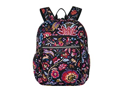 Vera Bradley Iconic Campus Backpack (Foxwood) Backpack Bags