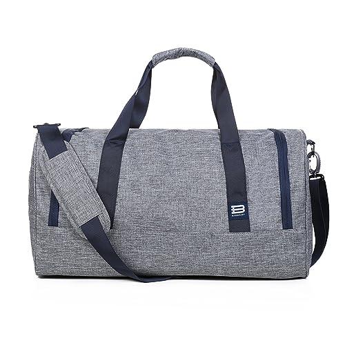 BAGSMART Travel Duffel Bag Large Foldable Weekend Shoulder Handbag Overnight  Bag Gym Bag Carry-on c26ca8fb68