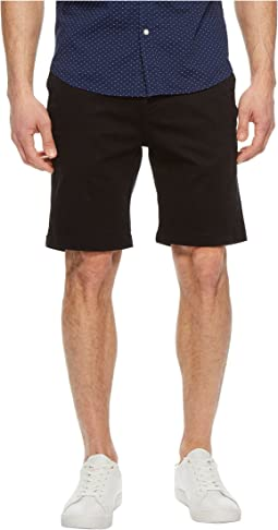 Nevada Shorts in Black Twill