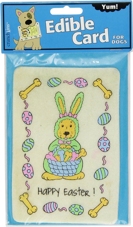 Crunchkins Crunch Edible Card, Happy Easter
