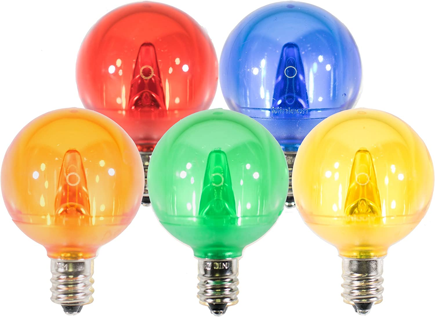 Holiday Lighting Bombing new work Outlet LED Smooth B G40 Dedication Multi Replacement Light