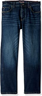 Tommy Hilfiger Boys' Adaptive Jeans Relaxed Fit with Magnet Buttons