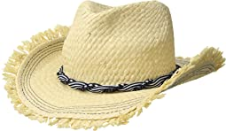 Beach Wearing Fedora Hat