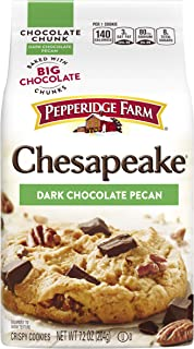 Pepperidge Farm Chocolate Chunk Crispy Cookies, Chesapeake Dark Chocolate Pecan, 7.2-ounce (pack of 6)