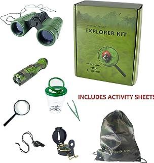 Kit de Explorador Externo Britten y James de 3 a 10 años. Ayude a los niños a Descubrir la Naturaleza con Este Set de Aventuras de Primera Calidad: Divertido y Educativo.