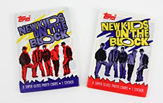 Two Packs of New Kids on the Block Trading Cards NKOTB 1989