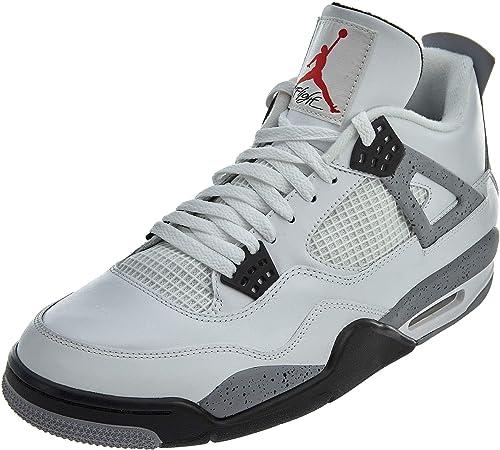 Jordan Nike Air 4Retro BG (GS) 'Oreo' 408452–003 Taille US