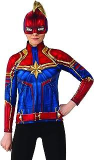 Rubies Captain Marvel Hero Suit Female Costume, Small