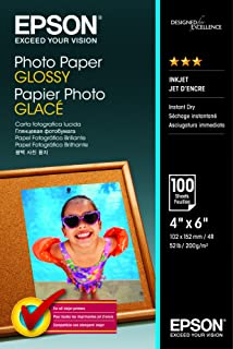 Epson C13S042548 10 x 15 cm błyszczący papier fotograficzny (opakowanie 100)