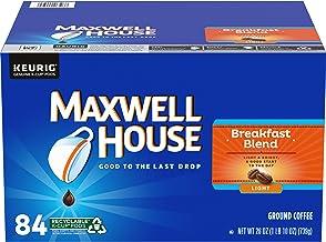 Maxwell House Breakfast Blend Light Roast K-Cup Coffee Pods (84 Pods)