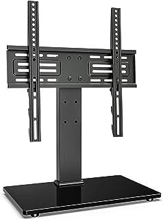 FITUEYES Soporte de TV de 27 a 55 Pulgadas Giratorio 60 Grados Altura Ajustable Soporte de Mesa para TV LCD LED OLED Plasm...