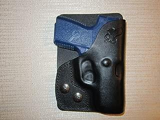 KAHR PM9 & CM9 Formed Leather Left Hand, Wallet Holster or Pocket Holster