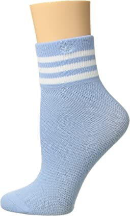 adidas Originals Originals Mesh Striped Ankle Single Quarter Sock