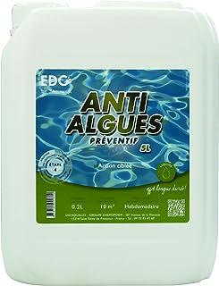 Anti Algues Piscine - Bidon 5 Litres - PREVENTIF EDG BY AQUALUX