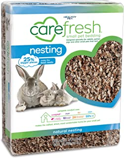 carefresh® Natural Nesting Small pet Bedding, 60L (Pack May Vary)