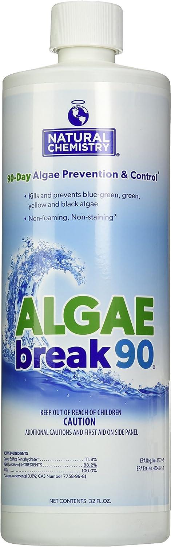 Natural Chemistry 7600 90 Algae Arlington Mall Overseas parallel import regular item Break