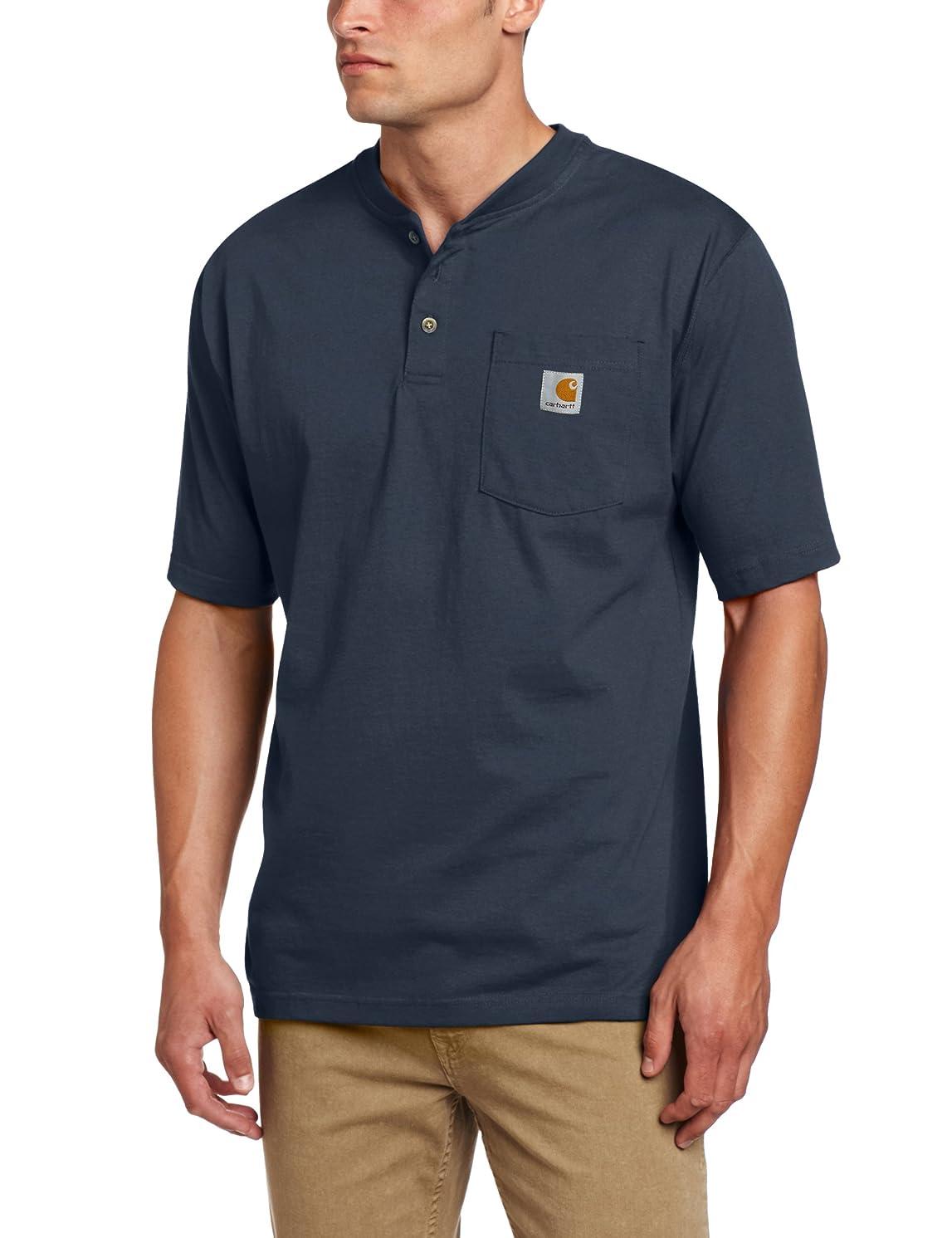 Carhartt Men's Workwear Pocket Henley Shirt