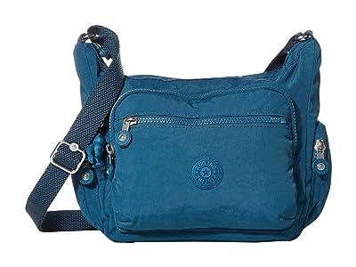 Kipling Gabbie Small Crossbody Bag (Mystic Blue) Handbags