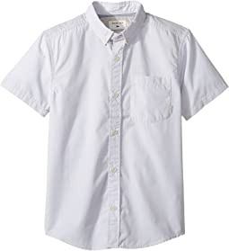 Quiksilver Kids - Everyday Wilsden Short Sleeve Shirt (Big Kids)