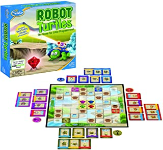 Think Fun Robot Turtles STEM Toy and Coding Board Game for Preschoolers - Made Famous on Kickstarter, Teaches Programming ...