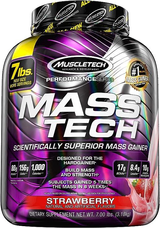 Mass Gainer Protein Powder | MuscleTech Mass-Tech Mass Gainer
