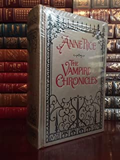 The Vampire Chronicles by Anne Rice Brand Leather Bound Collectible