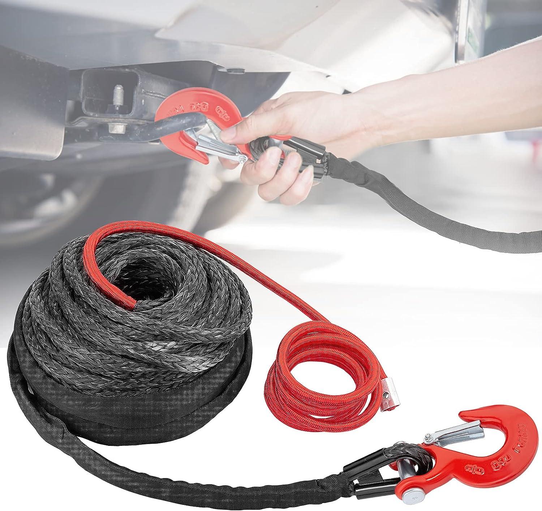Vogvigo Cable sintético para Cuerda de cabrestante 3/8